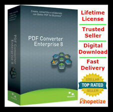Nuance PDF Converter Enterprise ⭐ Full version ⭐ Lifetime License Download link