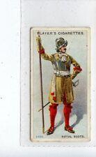 (Jd3979) PLAYERS,REGIMENTAL UNIFORMS 2ND,ROYAL SCOTS,1913,#56