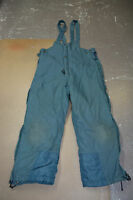 Used Canadian air force blue cold weather trousers pants size 7030 (P10#bte155)