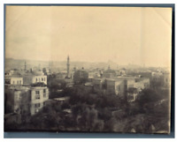 Egypte, Caire (القاهرة), Panorama de Caire  vintage citrate print Tirage citra