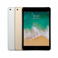 Apple iPad Mini 4 Wi-Fi 7.9in Tablet 16/32/64/128gb *Choose Color* *Grade A-B-C*