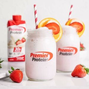 Premier Protein High Protein Shake, Strawberry Cream (11 fl. oz., 6 pack)
