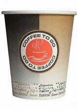 1000 Coffee to go Becher 200ml Kaffeebecher Pappbecher Coffeebecher Hartpapier b