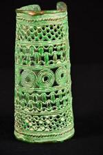 12063 BRONZE: Afrikanische Alte Benin Konigin Arm Reifen Nigeria