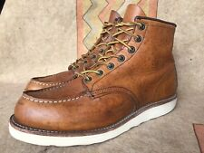 Red Wing Heritage 875 6-Inch Classic Moc Oro Legacy Men's Boots Sz 8.5 D