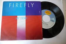 "FIREFLY"" MY DESIRE- DISCO 45 GIRI 7' MR.DISCO Italy 1982""ITALO DISCO-PERFETTO"