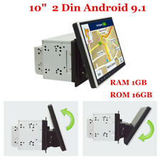 """10"""" Double 2 Din Android 9.1 Car Stereo Radio GPS Nav Mirror Link WiFi 3G/4G OBD"""
