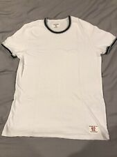 abercrombie fitch White T-shirt Crewneck Small