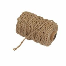 Vivifying 98 Feet 4mm 4 Ply Jute Twine Natural Biodegradable Strong Jute Rope.