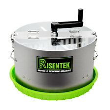 Risentek Trimmer Trimming Machine Leaf & Buds Trim Bowl 16-inch Stainless Steal
