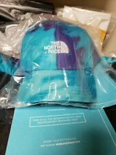 THE NORTH FACE x SNS Scuba Blue Tie Dye Hat S/M New With Tags 🏷