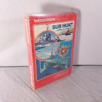 COMPLETE IN BOX Intellivision Sub Hunt TESTED GUARANTEED!