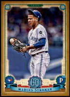 Marcus Stroman 2019 Topps Gypsy Queen 5x7 Gold #76 /10 Blue Jays
