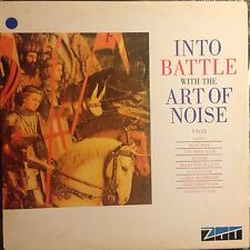 THE ART OF NOISE • Into Battle With The Art Of NOISE • Vinile 12 Mix • 1983 ZTT