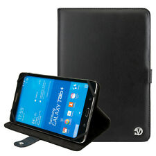 Black PU Leather Portflio Case Cover for Samsung Galaxy Tab 4 10.1 advanced 2016