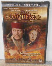 The Conqueror (DVD, 1999) RARE JOHN WAYNE GINGHIS KHAN ADVENTURE BRAND NEW