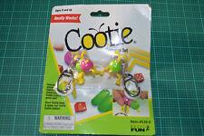 Cootie Key chain set Basic Fun Key ring Board Game Mini Milton Bradley #1979