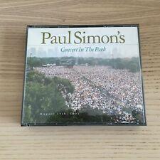 Paul Simon _ Concert in The Park _ 2 X CD Album BoxSet _ 1991 Warner