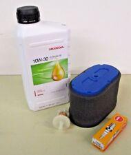 Honda Service kit, HF1211, GXV340 + GXV390   (Air Filter / Spark Plug / Oil/ )