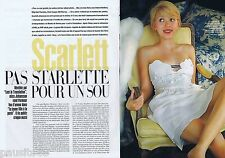 COUPURE DE PRESSE CLIPPING 2004 Scarlett Johansson (4 pages)