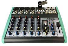 ZZIPP ZZMXBTE6 Mixer 6ch, MP3, Bluetooth e DSP, PC