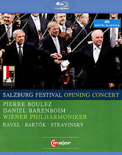 Salzburg Festival Opening Concert, 2008 [Blu-ray], New DVDs
