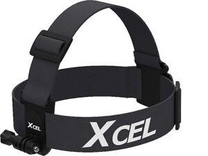 XCEL Adjustable Head Strap Mount Compatible w/ GoPro & XCEL Cameras