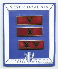 PANAMA DEFENSE FORCES Noriega Era Medal Ribbon Bars For Long Service by NS Meyer