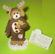 Boyds Bearstone Max Goodfriend with Lil' Ruby hand numbered 4034160 You better n