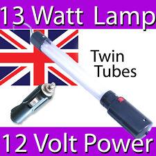 13 WATT LONG LIFE FLUORESCENT WORK INSPECTION LAMP LIGHT 12 VOLT CAR ADAPTER