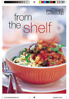 Womens Weekly FROM THE SHELF Mini Cookbook *NEW*