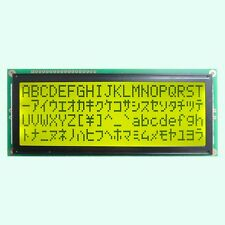 Larger Character 20X4 204 2004 LCD Module Display Screen LCM (Black on Yellow)