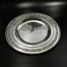 Klassizistischer Echt Silber Teller Untersetzer Schale Sterling Silber um 1900