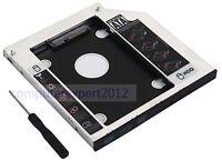 2nd DISQUE DUR HDD Optique Caddy pour Dell Precision M4700 M6700 M2800 DV-18SA