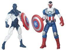 Marvel Legends 3 3/4-Inch Comic Pack Action Figure Wave 1 Shield Wielding Heroes