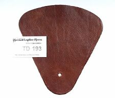 Sequoia Brown Scrap Leather Craft Piece aprox. .25 sqft  TD193