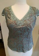 ladies beautiful monsoon top size 12