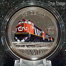 1919-2019 - 100th Anniversary of CN Rail - 25-cent gift Coin - Canada