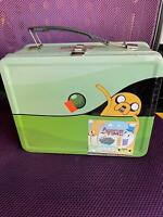 Adventure Time Travelling Jake Tin Tote Lunch Box Exclusive Gift Set LIMITED