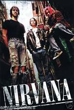 """NIRVANA """"GROUP IN ALLEY, LOOKING DOWN AT CAMERA"""" POSTER FROM ASIA (#J-4834)"""