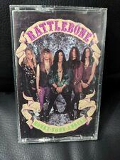 Rattlebone - Honky Tonk Angels 1991 Ultra Rare U.S.HAIR METAL CASSETTE TAPE!!