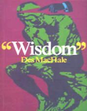 Wisdom, MacHale, Des, New Book