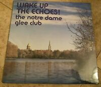 Wake Up The Echoes! The Notre Dame Glee Club Vocal Choral LP New sealed 1975