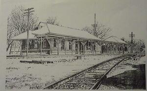 Murfreesboro Train Station(MIni Print) By Bernard Wiley