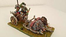 Carro de Jabalís. Ejército Orcos y Goblins - Warhammer Fantasy