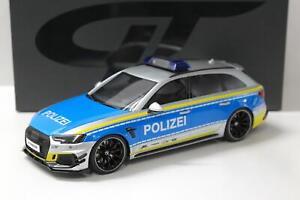 1:18 GT Spirit GT817 Audi ABT RS4-R Avant POLIZEI silver/ blue
