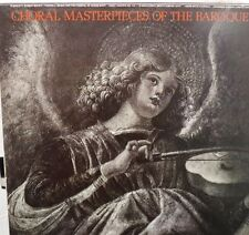 Choral Masterpieces of the Baroque 33RPM MCA1404  122616LLE