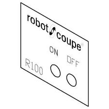 Robot Coupe 400541 Data Plate