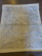 carte d'état major  evreux ww2            (c5)