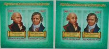 Physicists & Astronomers: Charles Coulomb & Andre-Marie Ampere - 2 s/s #ML1124p